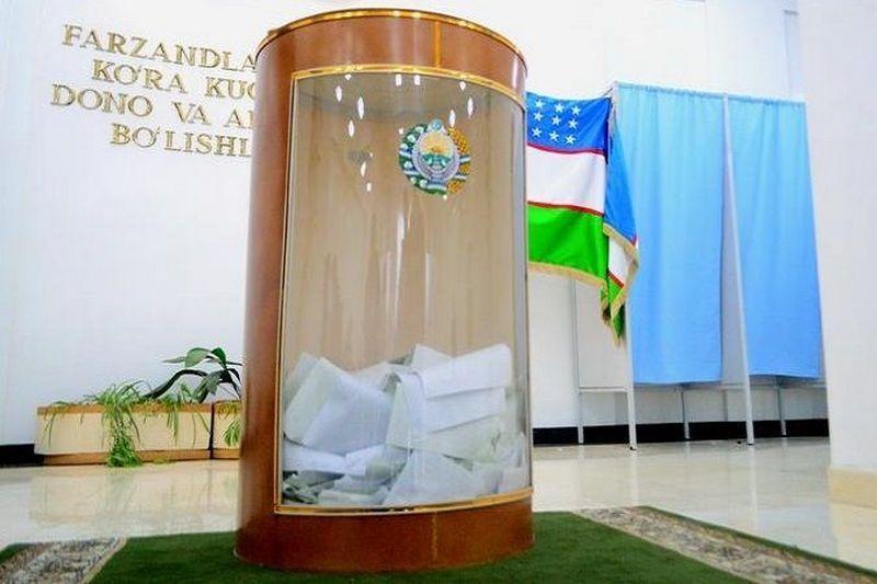 乌兹别克斯坦总统选举开始提前投票