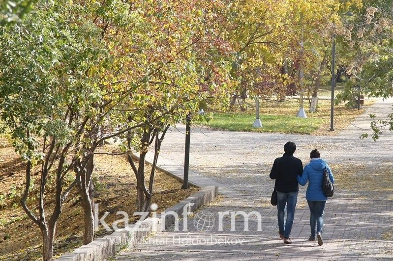 Туманно и без осадков - прогноз погоды в Казахстане 15 октября