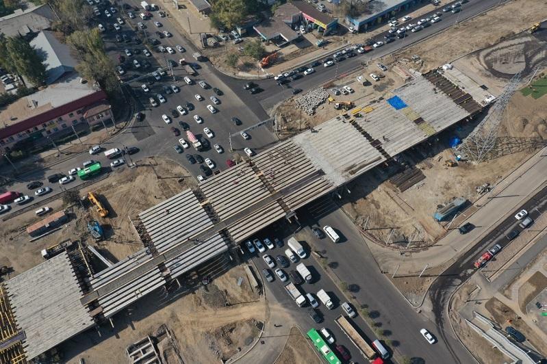Когда закончат строительство развязок и пробивку улиц в Алматы