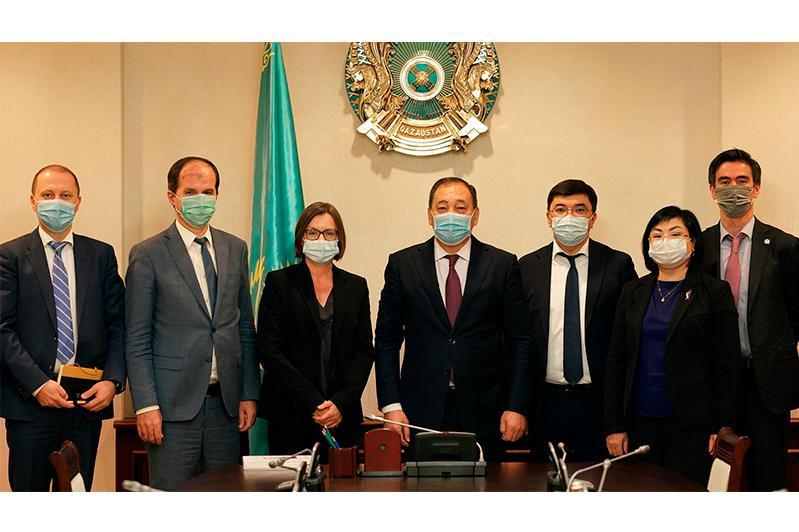 Ералы Тугжанов и Помощник Генсекретаря ООН обсудили направления сотрудничества
