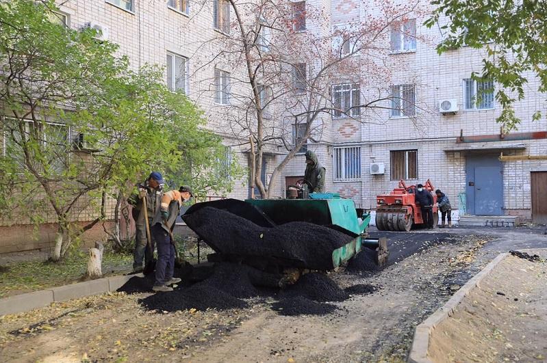 220 дворовых территорий отремонтируют в этом году в Актобе