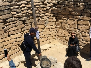 Group of foreign journalists travels to Mangystau's sacred sites