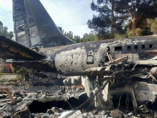 Condition of only survivor of Boeing 707 plane crash satisfactory