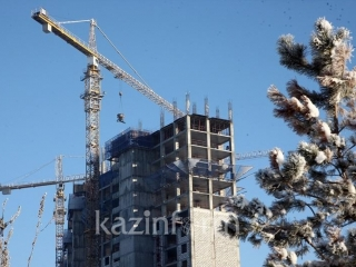 Construction volumes in Kostanay region increase by 22.3% in 2018