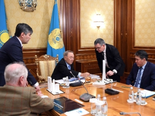 President approves project for World Trade Center construction in Astana