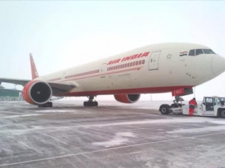 Air India plane made emergency landing at Astana Airport