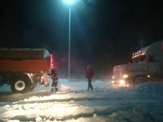 224 people evacuated from Akmola region's roads