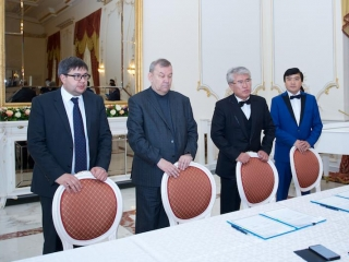 Astana Opera, Astana Ballet, and Bolshoi Theatre of Russia ink cooperation agreement
