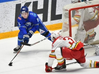 HC Barys Astana beat Kunlun Red Star at home