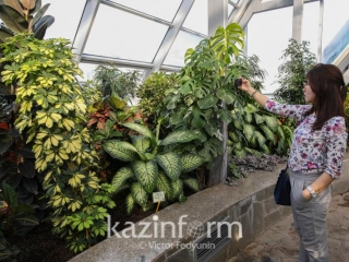 Astana Botanical Garden to open in April