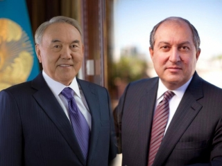 Nazarbayev - one of the most respected politicians of our time - Armenia President