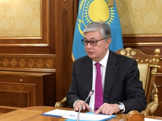 Head of State holds meetings with Zhambyl region governor