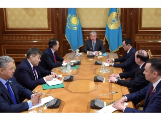 President of Kazakhstan meets with representatives of parties