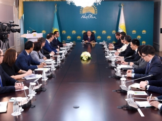 Nazarbayev: Nur Otan must become leading political force of Kazakhstan