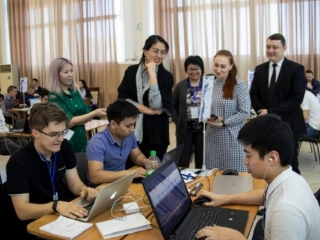 E Kazakhstan hosts regional IT Jastar Time Hackathon