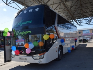 New Turkestan - Samarqand bus route to boost tourist flow