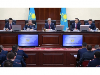 President Tokayev urges police to work efficiently