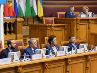 Kazakh Senate Speaker attends CIS IPA plenary sitting