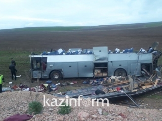 11 killed in horrific car accident in Zhambyl region