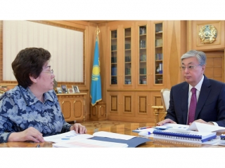 Kazakh President receives Education Minister
