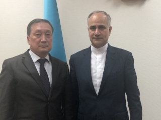 Kazakhstan and Iran pledge to boost sales up to USD 3 bln