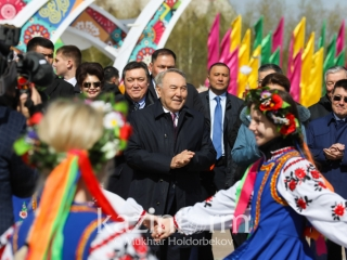 Nursultan Nazarbayev extends the People's Unity Day congratulations