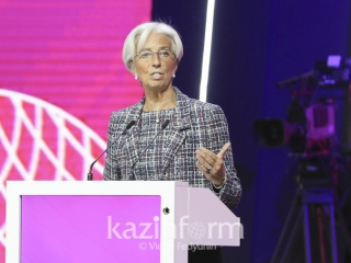 Christine Lagarde quotes Abai to describe importance of global economy growth