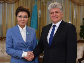 Kazakh Senate Speaker, UN Assistant Secretary- General meet in Nur-Sultan