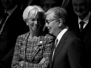 President Tokayev shares photo with Christine Lagarde on Twitter