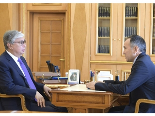 President Tokayev receives Zhambyl region Governor