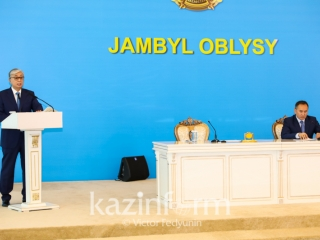 President commissions to raise Zhambyl region's tourism potential