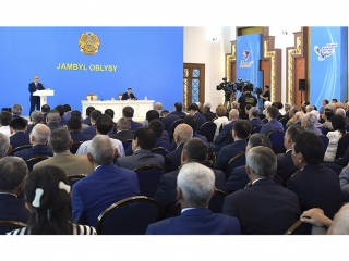 President Tokayev highlights problems of Zhambyl region