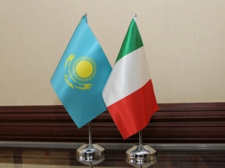 Kazakh, Italian eye bilateral cooperation