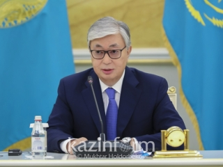 Video of Kassym-Jomart Tokayev's press conference on election results released