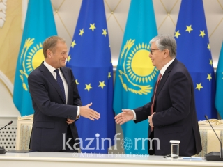 Donald Tusk congratulates Kassym-Jomart Tokayev on election as President of Kazakhstan