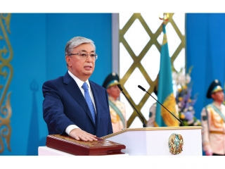 Kassym-Jomart Tokayev receiving new congratulatory letters