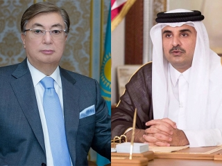 Emir of Qatar congratulates Kassym-Jomart Tokayev on election win