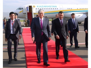 President arrived in Dushanbe for CICA Summit