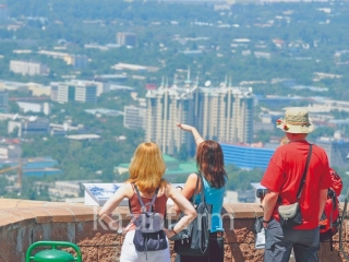 Number of international visitors in Almaty increases by 46%