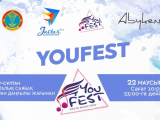 Kazakh capital to hold YouFest Music Festival
