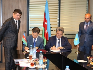 Kazakhstan First President's Library and Azerbaijan's Social Research Centre sign memo