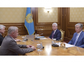 Kazakh President, Belarus Security Council Secretary of State had talks