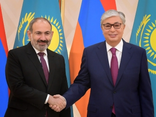 Tokayev, Pashinyan eye measures to deepen Kazakh-Armenian cooperation