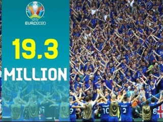 UEFA reports record-breaking 19.3 mln ticket requests for 2020 Euro Cup matches