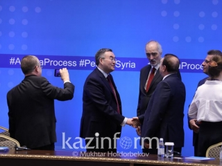 ​Nur-Sultan to host next intl high-level meeting on Syria on Aug 1-2