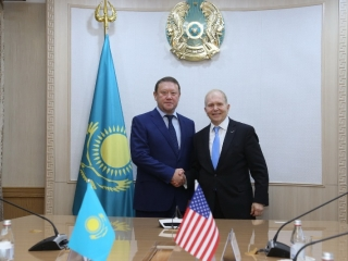 North Kazakhstan region governor, U.S. ambassador meet