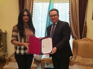 SATUC Charity Foundation intends to cooperate with Kazakhstan