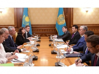 Kazakh President, French Minister of Economy and Finance meet in Nur-Sultan