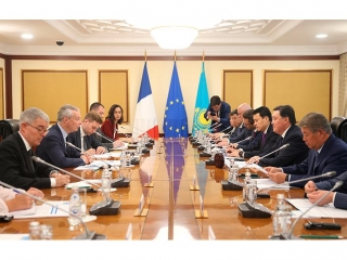 Askar Mamin, Bruno Le Maire discuss prospects in trade, economic and investment coop
