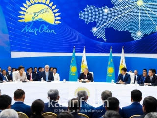 Extended session of Political Council of Nur Otan Party kicks off
